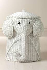 Rattan Elephant Hamper via Home Decorators Collection