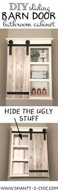 cabinet style. Barn Door Bathroom Cabinet Style Doors Sliding -