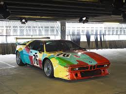 1979 Andy Warhol BMW M1 Art Car to Be Showcased at ARTcetera 2013 ...