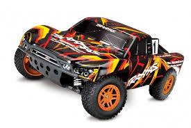 <b>Радиоуправляемая машина Traxxas Slash</b> 4x4 1:10 Оранжевый в ...