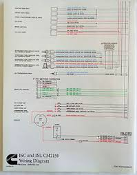 cummins laminated isc and isl cm2150 wiring diagram image is loading cummins laminated isc and isl cm2150 wiring diagram