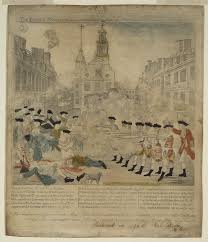 th anniversary of the boston massacre  paul revere the boston massacre 5 mar 1770