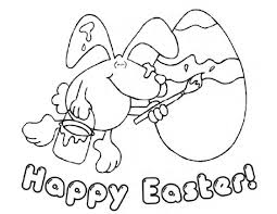 Easter Pages To Color Coloring Part 8 Happy Spring Coloring Pages