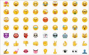 Android Emoji Conversion Chart Emoji In Bitrix24