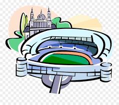 Vector Illustration Of Bernabeu Sports Stadium Madrid