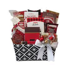 winter festival gift basket