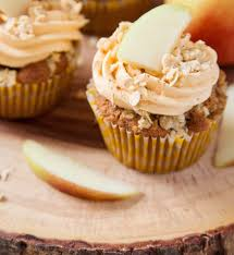 Bm Lifestyle Great British Bake Off Special Apple Crumble Cupcakes
