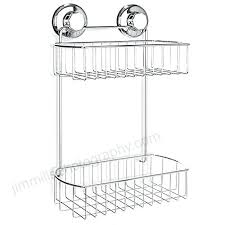 suction cup shower caddy accessories shower with suction cup stainless steel basket for bathroom rustproof chrome suction cup shower caddy