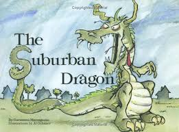 the suburban dragon a new children s book by garasamo maccagnone is a wonderful little tale of a creative dad who plays a trick on his unexpected kids