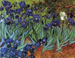 van gogh irises painting vincent van gogh irises 1889 getty museum