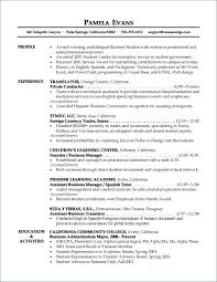 Resume Templates Entry Level Simple Experience Summary In Resume Examples Summary Resume Examples Entry