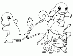 Small Picture Bulbasaur Coloring Pages GetColoringPagescom