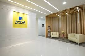 raw office. In Line With Their Recent Corporate Re-branding, The Design Of Brand New Aviva Investors Office Raw