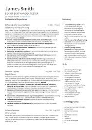 Software Engineer Resume Examples Unique Resume Example Software Engineer Modern Resume Template
