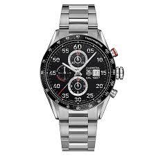 tag heuer carrera men s stainless steel bracelet watch ernest jones tag heuer carrera men s stainless steel bracelet watch product number 1616323