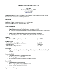 Warehouse Operative Cv Google Docs Functional Resume Templates And