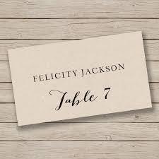010 Template Ideas Wedding Name Cards Templates Printable