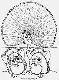 Furby Coloring Pages Furby Manual