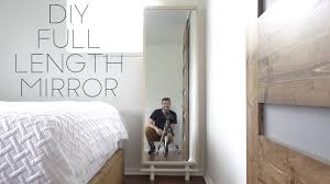 Full lenght mirror Hallway Modern Builds S1 E59 Youtube Diy Full Length Mirror Modern Builds Ep 59 How To Youtube