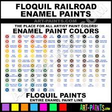 Floquil Railroad Enamel Paint Colors Floquil Railroad