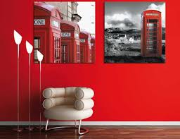 red wall paint color