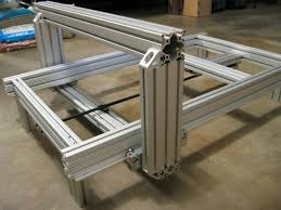 complete 2 x 3 custom cnc router from 80 20 aluminum