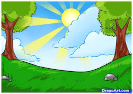 easy scenery drawing for children