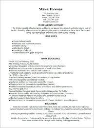 Resume Welding Position Resume Pdf Download