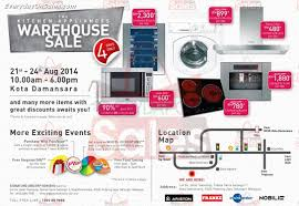 Warehouse Kitchen Appliances Signature Obicorp Warehouse Sale Kitchen Appliances My