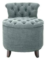 upholstered vanity stool skirted chair tufted vanities grey gray reese white u