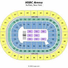 Keybank Center Seating Chart First Niagara Center Seating Chart
