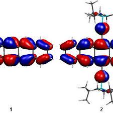 3: Highest occupied molecular orbitals of pentacene 1 and TIPS... |  Download Scientific Diagram