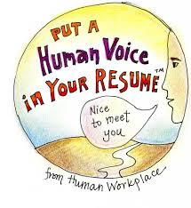 Put A Human Voice In Your Resume