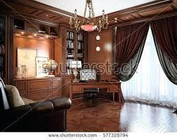 interior designers office. Brilliant Designers Home Office Interior Design In Classic Style Rendering Law To Designers