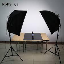 soft box photography lighting kit continuous lighting system photo studio equipment photo model portraits shooting box led bulbs in photographic lighting
