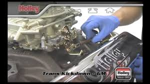 setting the transmission kickdown on th 350 th400 and 700r4 premium