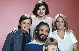 Slide Tv Show Family Ties Tv Series Original 35mm Slide Cast Pose Michael