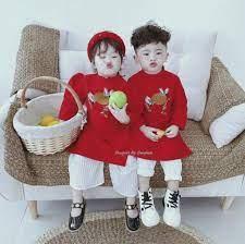SIÊU RẺ] Áo dài cách tân cho bé trai và bé gái từ 8 đến 22kg, Giá siêu rẻ  99,000đ! Mua liền tay! - SaleZone Store
