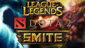 lol vs dota 2 vs smite comparing 3 mobas youtube