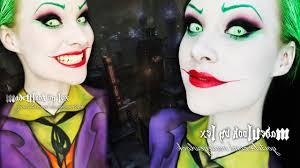 the joker jack nicholson version makeup body paint tutorial you
