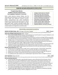 Human Resources Resume Template Elegant Human Resources Resume