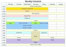 Excel 15 Minute Schedule Template Excel Agenda Template Monthly Staff Schedule Free Employee 15