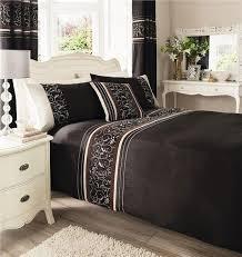 bedroom duvet and curtain sets uk dark brown duvet cover single