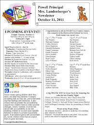 october newsletter ideas ideas for school newsletters kays makehauk co