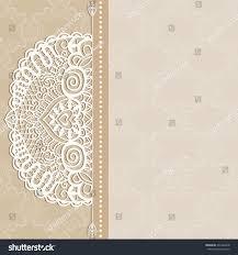 wedding card invitation card design frame stock vector 201482678 Wedding Card Frame Border Vector wedding card, invitation card design, frame border lace pattern, decorative ornamental background Black Vector Border Frame