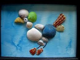 Collect a BIG STASH of seashells.. then use your wonderful summer finds to  create fabulous keepsake Seashell Art!