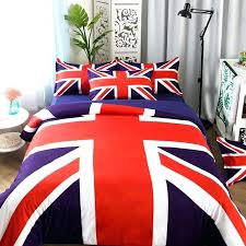 bed sheets usa union jack flags bedding set twin queen king size duvet cover bed sheets