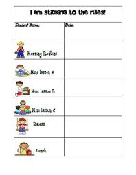 Behavior Change Chart Kindergarten Graph Template Behavior Chart Boy Or Girl