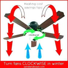what direction does a ceiling fan turn in the summer which way should a ceiling fan
