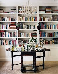 foyer library table